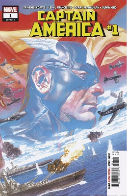 Captain America no. 1 (2018 Series)