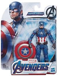 Avengers 6 Inch Action Figure: Captain America