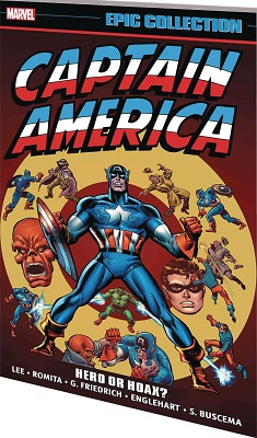 Captain America Epic Collection: Hero or Hoax TP
