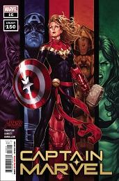 Captain Marvel no. 16 (2018 Series)