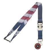 Lanyard: Captain America with Deluxe Card Holder