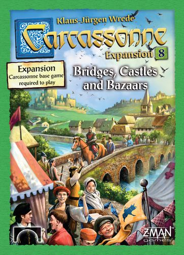 Carcassonne: Expansion 8: Bridges Castles Bazaars (New edition)