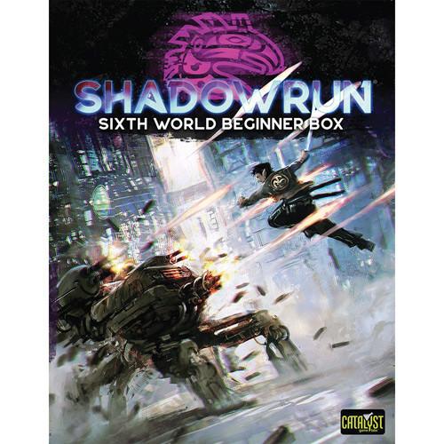 Shadowrun 6th Edition RPG: Sixth World Beginner Box