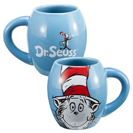 Dr. Seuss The Cat in the Hat 18 oz. Oval Ceramic Mug