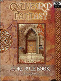 Querp: Quick Easy Role Play Core Rule Book - USED