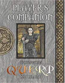 Querp Player's Companion Role Playing - USED