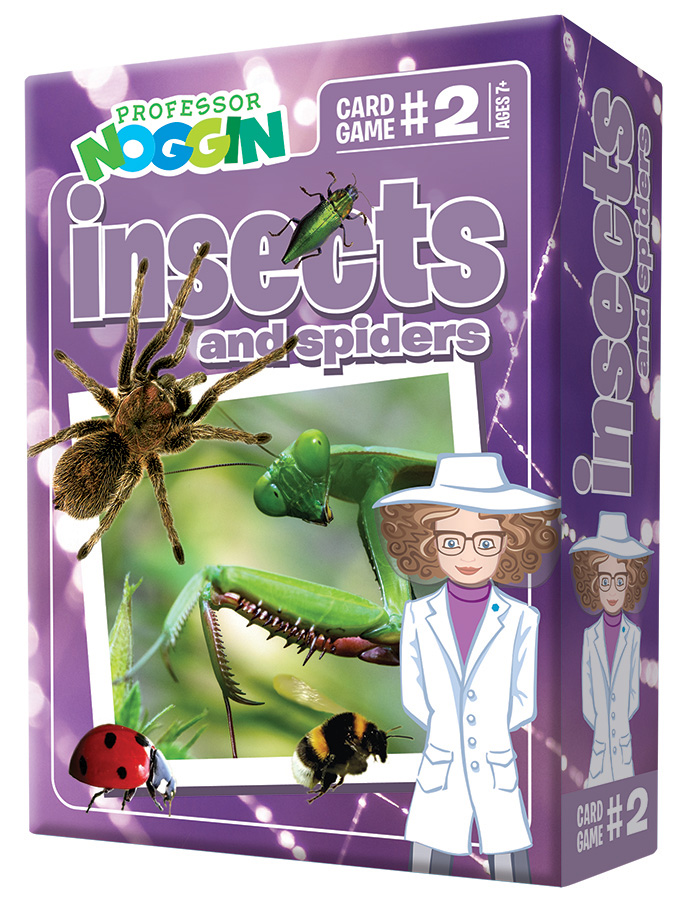 Professor Noggin Insects and Spiders Card Game