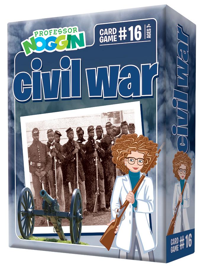 Professor Noggin Civil War Card Game