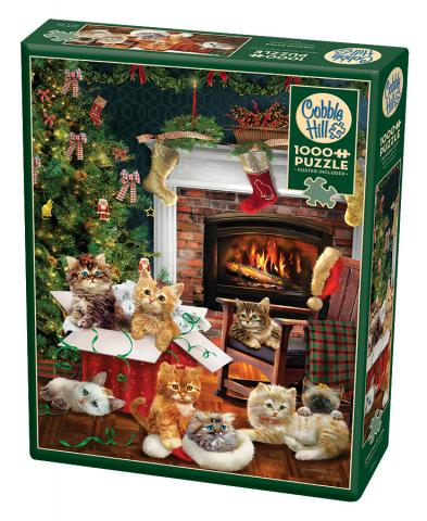 Christmas Kittens Puzzle - 1000 piece