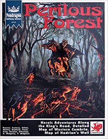 Pendragon Role Playing: Perilous Forest - USED