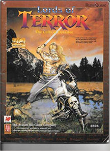 RuneQuest: Lords of Terror: the Cults of Dorastor Role Playing - USED