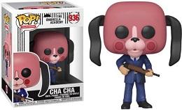 Funko POP: TV: Umbrella Academy: Cha Cha With Mask