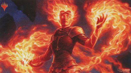 Playmat: Magic the Gathering: Chandra Awakened Inferno