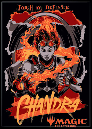 Magic the Gathering Magnet 2.5 X 3.5: Chandra Torch of Defiance