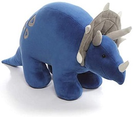 Plushie: Dino Chatter Triceratops Sound Toy