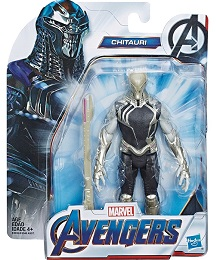 Avengers 6 Inch Action Figure: Chitauri