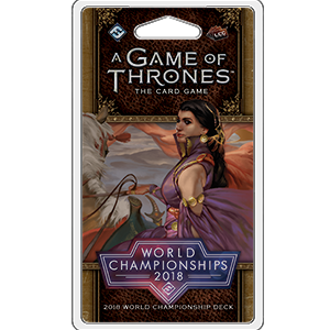 A Game of Thrones: the Card Game: World Championships 2018