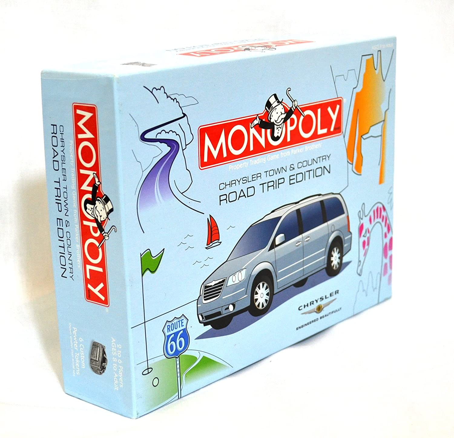 Monopoly: Chrysler Road Trip Edition - USED - By Seller No: 3901 Sean Thomas