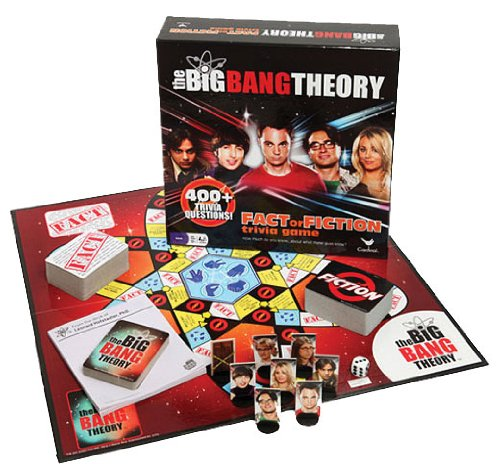 The Big Bang Theory: Fact or Fiction Trivia Game - USED - By Seller No: 16402 Tim Kain