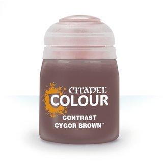 Citadel Contrast Paint: Cygor Brown 29-29