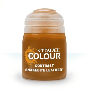 Citadel Contrast Paint: Snakebite Leather 29-27