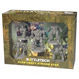 Battletech: Clan Heavy Striker Star: Force Pack