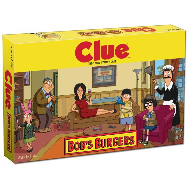 Clue: Bob's Burgers Board Game