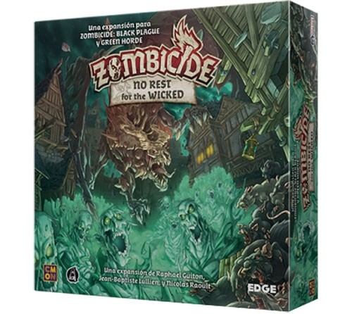 Zombicide: Green Horde: No Rest for the Wicked Expansion
