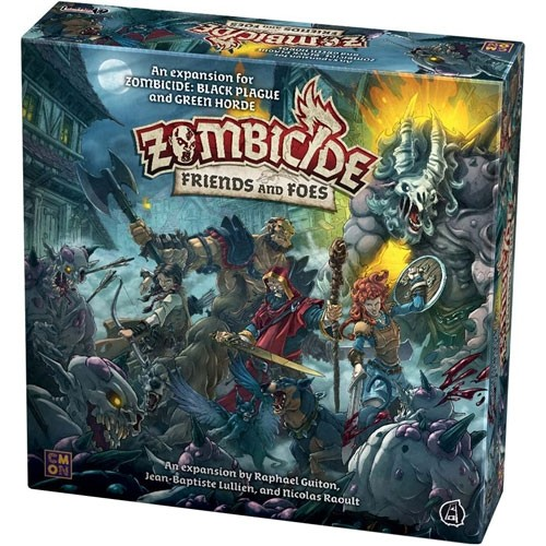 Zombicide: Green Horde: Friends and Foes