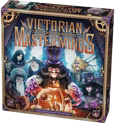 Victorian Masterminds Board Game