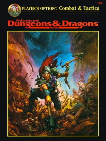 Dungeons and Dragons 2nd ed: Players Option: Combat and Tactics: 2149