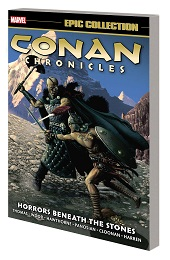Conan Chronicles Epic Collection: Horrors Beneath the Stones TP