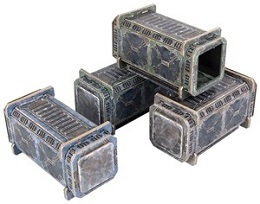 TinkerTurf Sci-Fi Terrain: Containers: Neutral