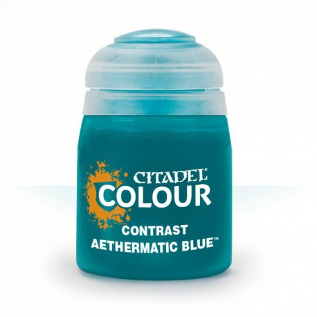 Citadel Contrast Paint: Aethermatic Blue 29-41