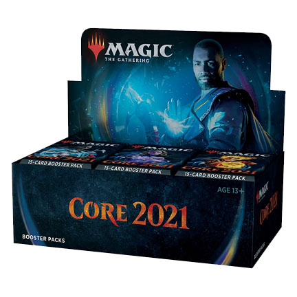 Magic the Gathering: Core Set 2021 Booster Box (36 Packs)