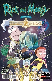 Rick and Morty: The Council of Ricks no. 1 (2020 Series) (A Cover)