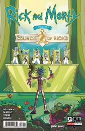 Rick and Morty: The Council of Ricks no. 1 (2020 Series) (B Cover)