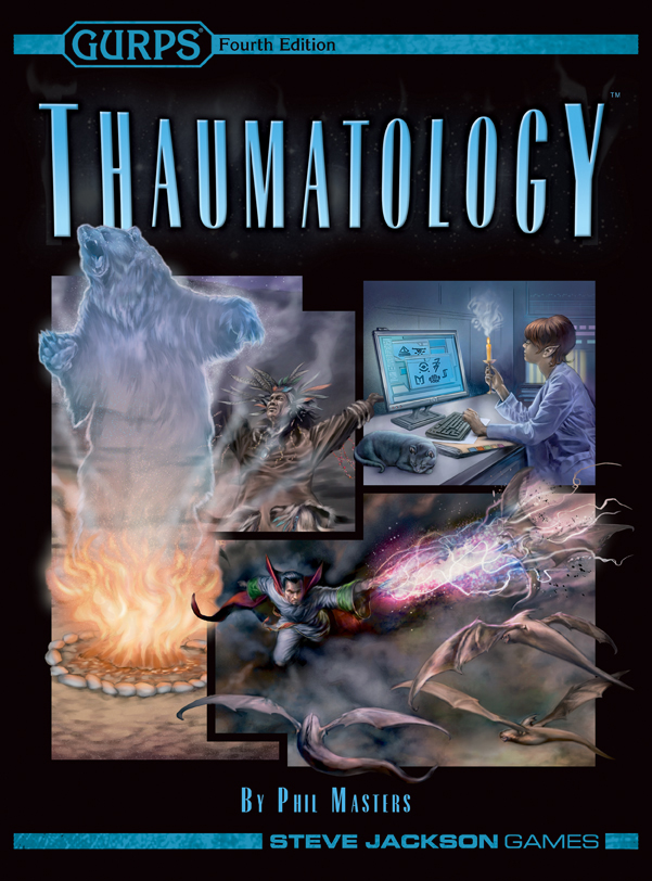 GURPS 4th ed: Thaumatology - Used