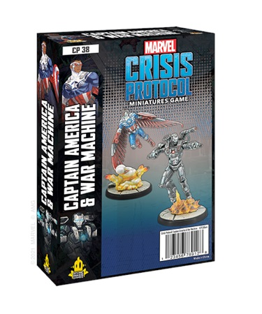 Marvel Crisis Protocol: Captain America and War Machine Character Pack