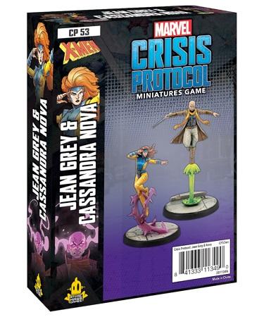 Marvel Crisis Protocol: Jean Grey and Cassandra Nova Character Pack