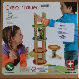 Crazy Tower Board Game