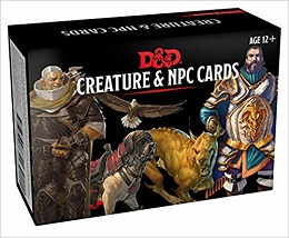 Dungeons and Dragons Monster Cards: Creature and NPC Cards