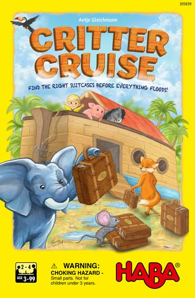 Critter Cruise Board Game