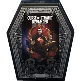 Dungeons and Dragons 5th ed: Curse of Strahd Revamped Boxed Set Collector's Edition