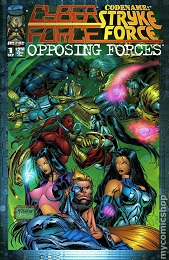 Cyberforce Strykeforce: Opposing Forces (1995 Series) Complete Bundle - Used