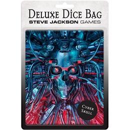 Deluxe Dice Bag: Cyberskull