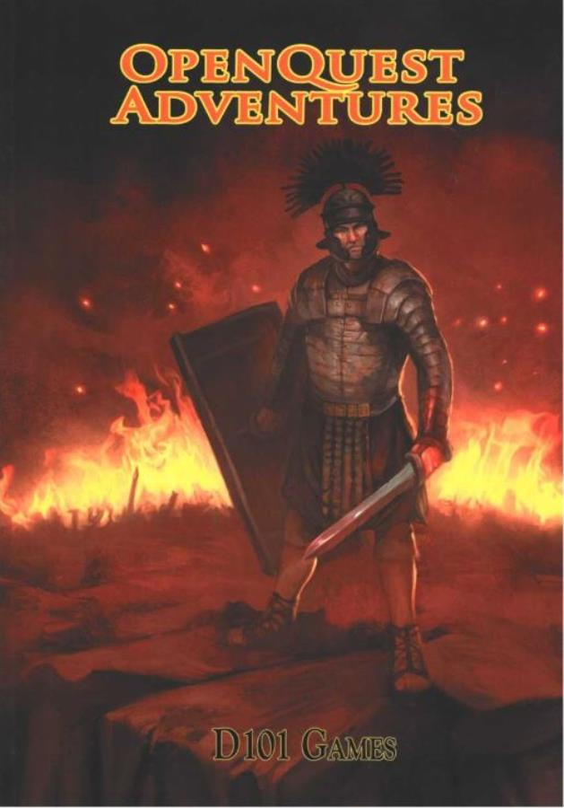 Open Quest 2nd Edition: Open Quest Adventures - Used