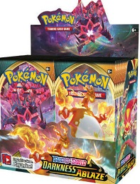 Pokemon TCG: Sword and Shield: Darkness Ablaze Booster Box (36 Packs)