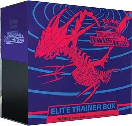 Pokemon TCG: Sword and Shield: Darkness Ablaze Elite Trainer Box