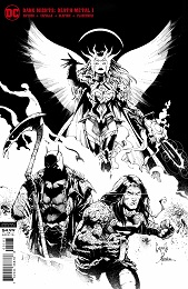 Dark Nights: Death Metal no. 1 (2020 Series) (Black and White Variant)